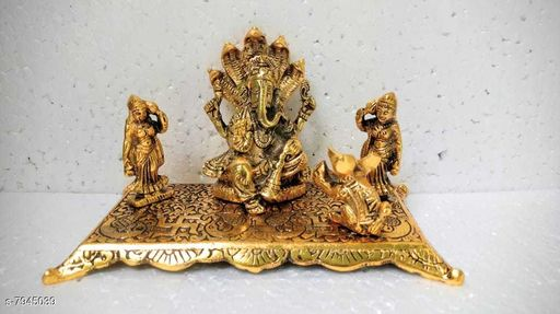 Show pieces metal handicraft material brass  *Material* Brass  *Pack* Pack of 1  *Sizes Available* Free Size *    Catalog Name: Essential Idols & Figurines CatalogID_1307885 C127-SC1615 Code: 3801-7945039-0041