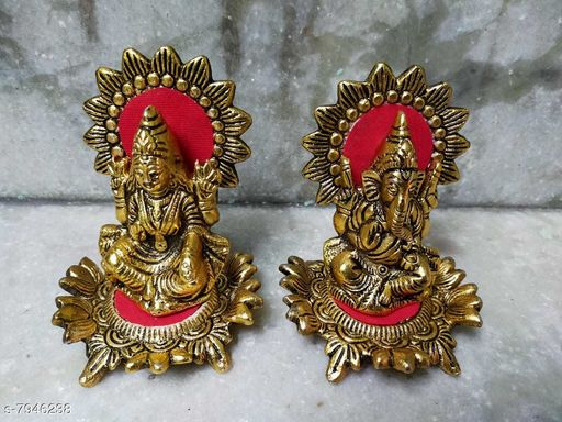 Show pieces metal handicraft material brass  *Material* Brass  *Pack* Pack of 1  *Sizes Available* Free Size *    Catalog Name: Essential Idols & Figurines CatalogID_1308144 C127-SC1615 Code: 3801-7946238-0041