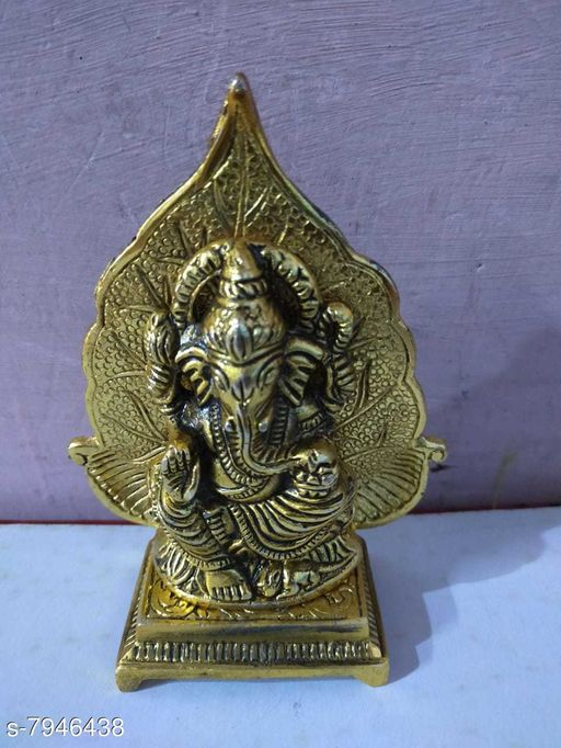 Show pieces metal handicraft material brass  *Material* Brass  *Pack* Pack of 1  *Sizes Available* Free Size *    Catalog Name: Latest Idols & Figurines CatalogID_1308198 C127-SC1615 Code: 3801-7946438-0041