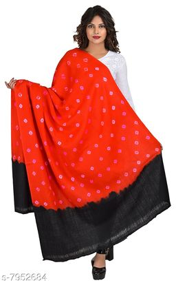 Women's Bandhani/Bandhej Tie & Dye Shawl