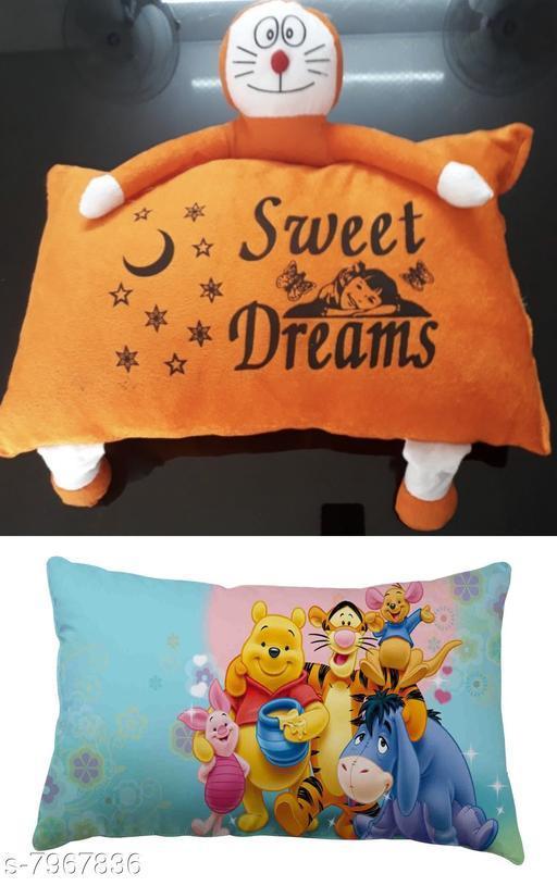 Beautiful printed fiber pillow