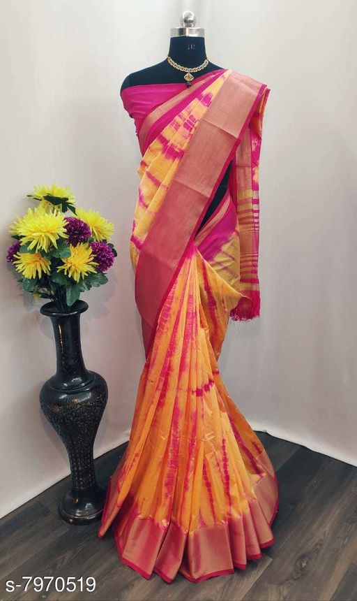 attractive sibori silk sarees