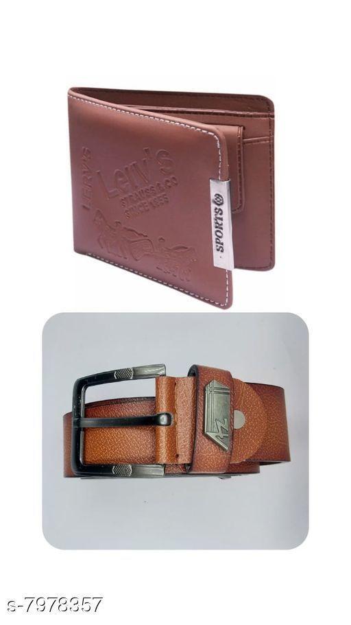 Men's Belt & Wallet