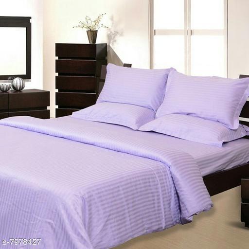 210TC Super soft Cotton satin  bed sheets