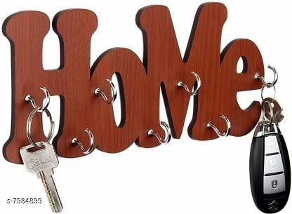 Other Key holder  *Material* Wooden  *Pack* Pack of 1  *Product Length* 27 cm  *Sizes Available* Free Size *    Catalog Name: Wonderful Keyholders CatalogID_1316761 C107-SC1806 Code: 082-7984899-