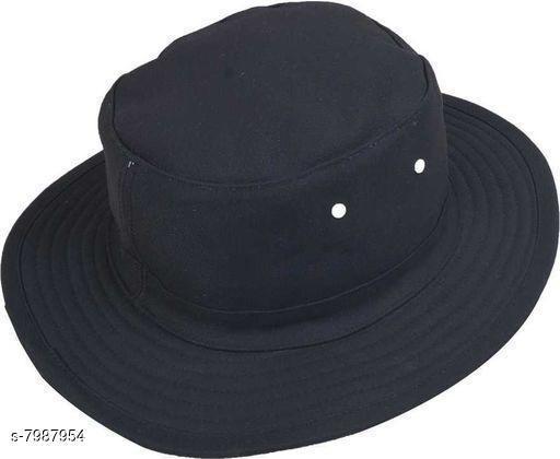 Stylish Men's Black Hats