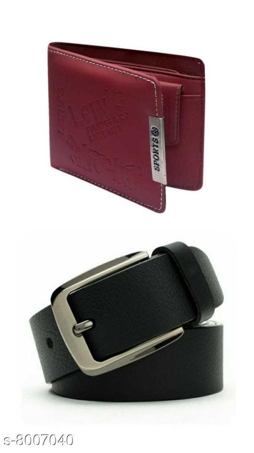 Martial Belt & wallet  Combo Pack
