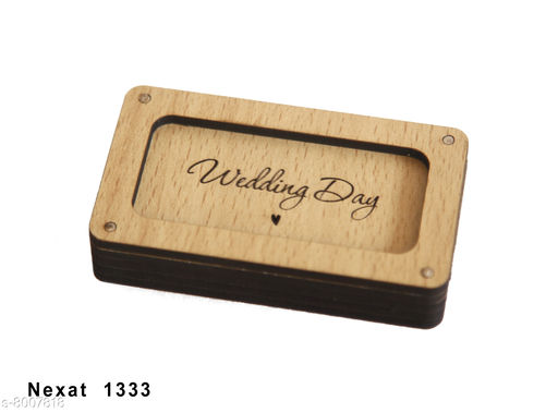 Others WOODEN PEN DRIVE BOX WOODEN PEN DRIVE BOXCOLOUR = CREAM SIZE = 9X5 MMUSE = SCHOOL , OFFICE , COMPANY ETC.WOODEN ART   *Material * Wooden  *Sizes Available* Free Size *    Catalog Name: Check out this trending catalog CatalogID_1321167 C80-SC1256 Code: 232-8007818-