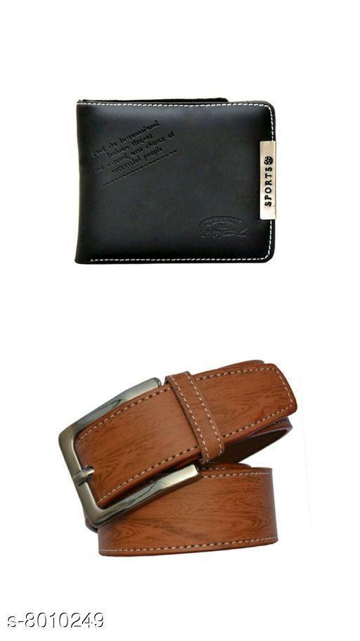 Attractive  Belt & Wallet