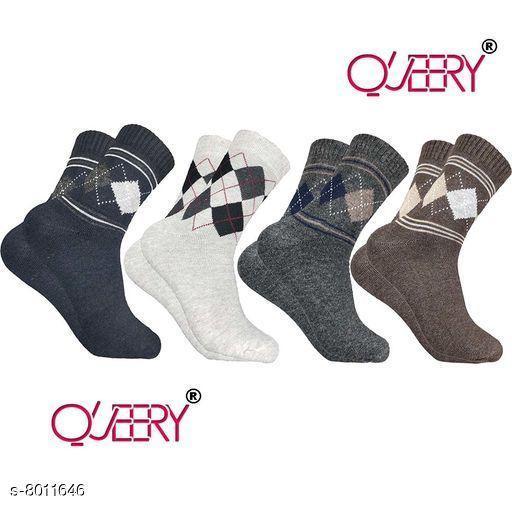 Trendy Men Woolen Socks