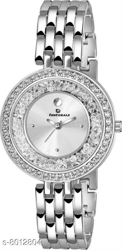 FastDeals Stardust Analog Silver Dial Women's Watch Analog Watch - For Women