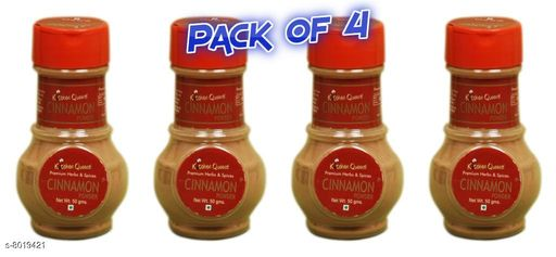 Bottles & Lunchboxes Kitchen Queens Cinnamon  50 gm (Pack of 4)   *Material* Plastic  *Pack* Multipack  *Sizes Available* Free Size *    Catalog Name: Stylo Dry Fruit Boxes CatalogID_1323896 C63-SC1196 Code: 953-8019421-