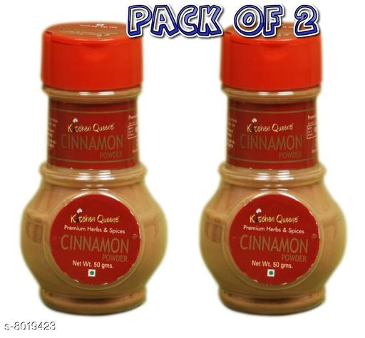 Bottles & Lunchboxes Kitchen Queens Cinnamon  50 gm (Pack of 2)   *Material* Plastic  *Pack* Pack of 2  *Sizes Available* Free Size *    Catalog Name: Stylo Dry Fruit Boxes CatalogID_1323896 C63-SC1196 Code: 532-8019423-