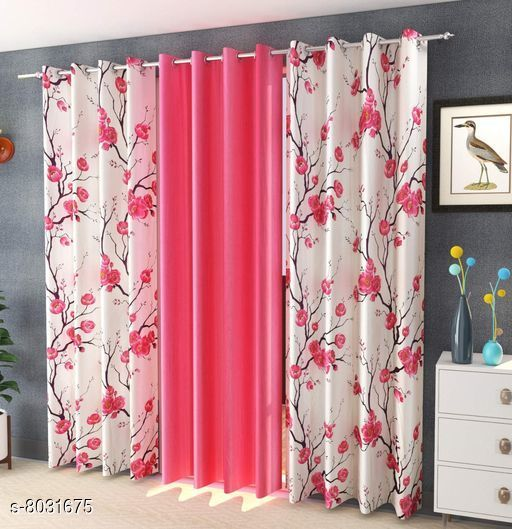 Curtains & Sheers Usefull Curtains & Sheers  *Material* Curtain  *Length* Door  *Multipack* 3  *Sizes* 7 Feet (Length Size  *Sizes Available* 7 Feet *    Catalog Name: Usefull Curtains & Sheers CatalogID_1326696 C54-SC1116 Code: 829-8031675-