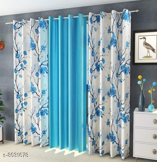 Curtains & Sheers Usefull Curtains & Sheers  *Material* Curtain  *Length* Door  *Multipack* 3  *Sizes* 7 Feet (Length Size  *Sizes Available* 7 Feet *    Catalog Name: Usefull Curtains & Sheers CatalogID_1326696 C54-SC1116 Code: 829-8031678-