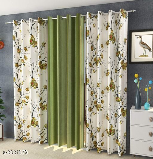 Curtains & Sheers Usefull Curtains & Sheers  *Material* Curtain  *Length* Door  *Multipack* 3  *Sizes* 7 Feet (Length Size  *Sizes Available* 7 Feet *    Catalog Name: Usefull Curtains & Sheers CatalogID_1326696 C54-SC1116 Code: 829-8031679-