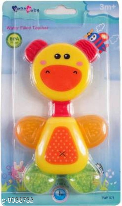 Others Toys Factory Cartoon Animal Teether (Ramdon Design) Toys Factory Cartoon Animal Teether (Ramdon Design)  *Fabric* Silicone  *Multipak* 1  *Size* Free Size  *Sizes Available* Free Size *   Catalog Rating: ★3.3 (6)  Catalog Name:  Cartoon Animal Teether  CatalogID_1328300 C63-SC1325 Code: 482-8038732-
