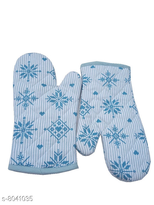 Oven Gloves Tidy Cotton Micro Oven Glove Material: Cotton Pattern: Printed Pack: Pack of 2 Product Length: 12 Inch Product Breadth: 6 Inch Country of Origin: India Sizes Available: Free Size *Proof of Safe Delivery! Click to know on Safety Standards of Delivery Partners- https://ltl.sh/y_nZrAV3  Catalog Rating: ★4.3 (75)  Catalog Name: Classic Oven Gloves CatalogID_1328800 C129-SC1636 Code: 651-8041035-003