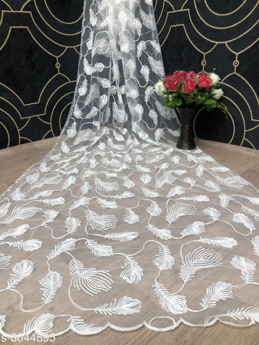 Diya Embroidery Net Dupattas