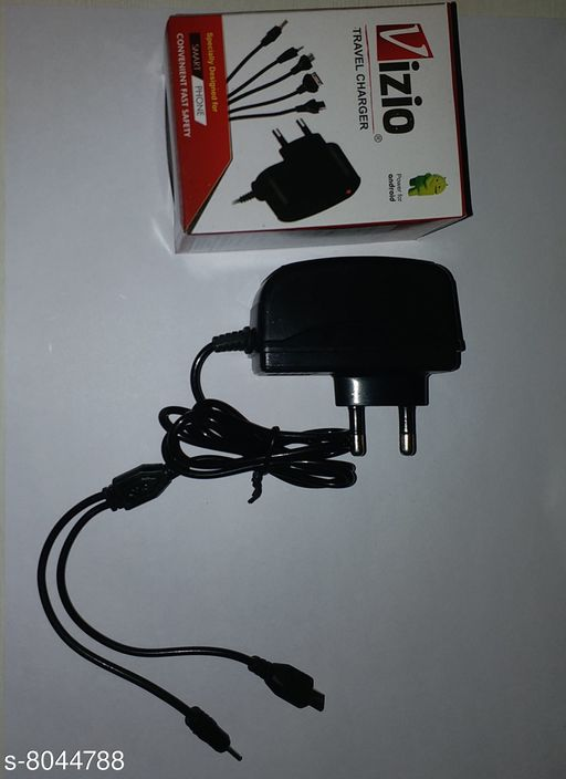 Mobile Chargers Trendy Personal Mobile Phone Chargers   *Product Name * Trendy Personal Mobile Phone Chargers  *Material * Plastic  *Size * Free Size  *Description * 2 Pin charger  *Sizes Available* Free Size *    Catalog Name: Trendy Personal Mobile Phone Chargers  CatalogID_1329738 C88-SC1335 Code: 562-8044788-