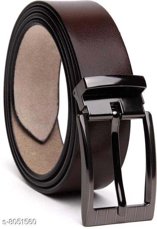Variety & Capture Men Formal Brown Genuine Leather Belt
