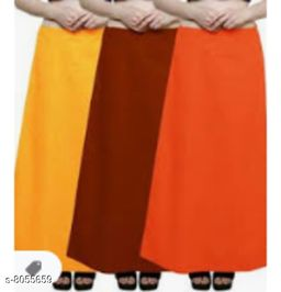 Stylish Cotton Solid Women's Petticoats