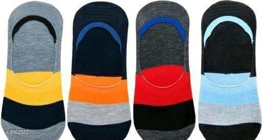 Trendy Men's Loafer Cotton Socks