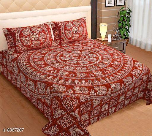 Premium Jaipuri Bedsheets Double bed