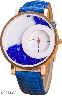 Vwatch Casual Analogue White dial Blue strap watch for Women - Vwatch_W_Maxre blue