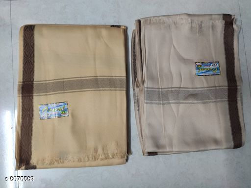 Sherwanis Attractive Men Pure Wool Shawl Combo Set  *Material* Pure Wool  *Pattern* Solid  *Sizes* Free Size  *Multipack* 2  *Sizes Available* Free Size *    Catalog Name: Attractive Men Pure Wool Shawl Combo Set CatalogID_1336996 C66-SC1203 Code: 674-8075589-