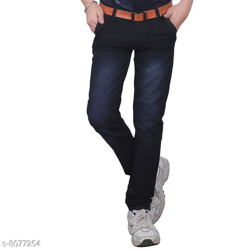 Jeans Trendy Boy's Jeans Fabric: Cotton Blend Pattern: Solid Multipack: Single Sizes:  Age Group (2 - 3 Years) - 20 in Age Group (4 - 5 Years) - 24 in Age Group (6 - 7 Years) - 28 in Age Group (8 - 9 Years) - 30 in Age Group (10 - 11 Years) - 32 in Age Group (12 - 13 Years) - 34 in Age Group (14 - 15 Years) - 36 in Age Group (15 - 16 Years) - 36 in Country of Origin: India Sizes Available: 1-2 Years, 2-3 Years, 3-4 Years, 4-5 Years, 5-6 Years, 6-7 Years, 7-8 Years, 8-9 Years, 9-10 Years, 10-11 Years, 11-12 Years, 12-13 Years, 13-14 Years, 14-15 Years, 15-16 Years   Catalog Rating: ★3.8 (3260)  Catalog Name: Cutiepie Fancy Boys Jeans & Jeggings CatalogID_1337408 C59-SC1180 Code: 344-8077254-