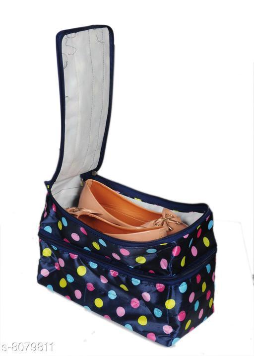 Sunesh Creation Multicolor Shoe Cover, Travelling Shoe Storage Bag/Storage Footwear Organize (Design 6)