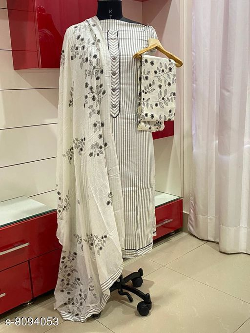 Beautiful Cotton Unstiched Suits For Womens