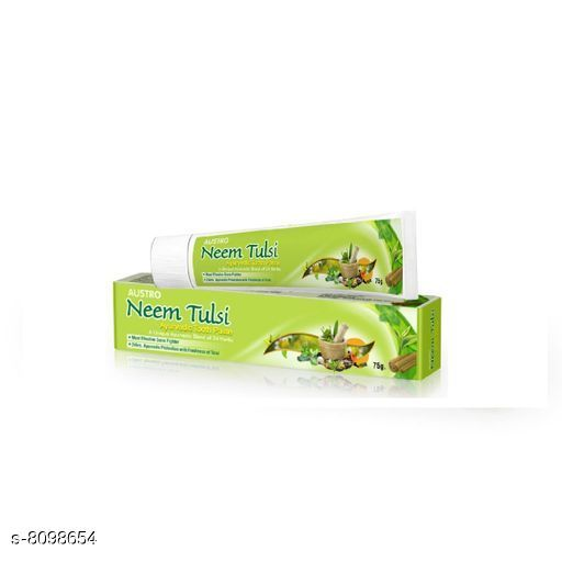 Oral Care Trendy  Tooth Paste Quantity - 75 GM  *Pack* 1  *Dispatch* 2-3 Days  *Sizes Available* Free Size *    Catalog Name: Fancy Toothpaste Dispenser CatalogID_1342374 C82-SC1307 Code: 512-8098654-