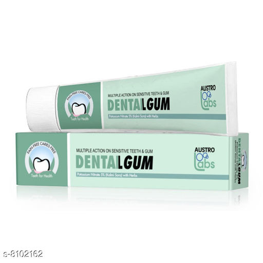 Oral Care Dental Gum Dental Gum Multipack-1  *Capacity* 75 g  *Sizes Available* Free Size *    Catalog Name: Check out this trending catalog CatalogID_1343195 C82-SC1307 Code: 581-8102162-