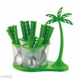 Deluxe Cutlery Set with Coconut Tree - Pack of 24