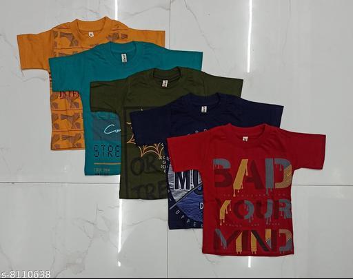 Cute boys tshirt (pack of 5)