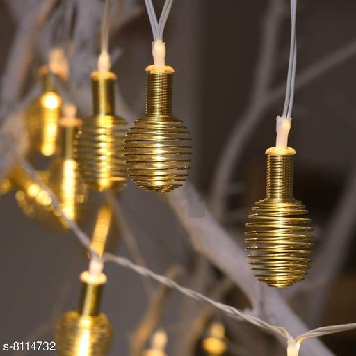 Brand World Decorative Lamp Shape LED String Lights Decorative Lights for Diwali, Christmas, Wedding, Party, Home Decorations