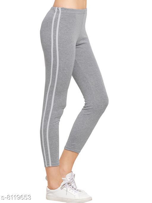 Women's Ankle Length Cotton Rib Tight Jegging/leggging/yoga pant/running track pant