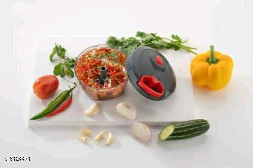 Manual Food Chopper, Compact & Powerful Hand Held Vegetable Chopper/Blender to Chop Fruits and Vegetables (multicolour)