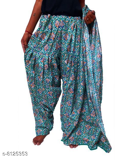 Ethnic Bottomwear - Patiala Pants Beautiful Cotton Patiala   *Fabric* Cotton  *Multipack* 1  *Sizes*   *Free Size (Length Size* 42 in)  *Sizes Available* Free Size *    Catalog Name: Elegant Women Patialas CatalogID_1348471 C74-SC1018 Code: 024-8125353-