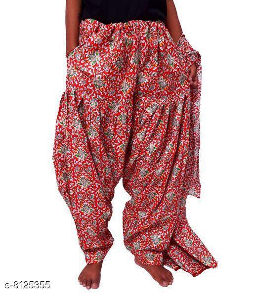 Ethnic Bottomwear - Patiala Pants Beautiful Cotton Patiala   *Fabric* Cotton  *Multipack* 1  *Sizes*   *Free Size (Length Size* 42 in)  *Sizes Available* Free Size *    Catalog Name: Elegant Women Patialas CatalogID_1348471 C74-SC1018 Code: 024-8125355-