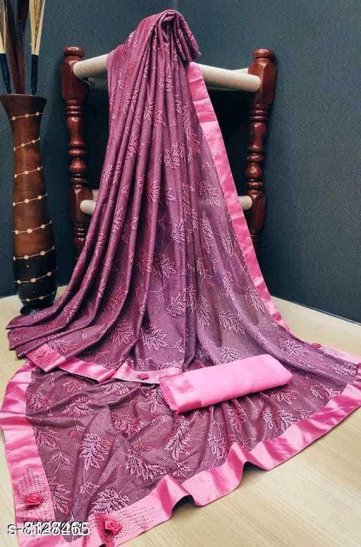 Attractive Stylish Brasso  Silk Women's Sarees