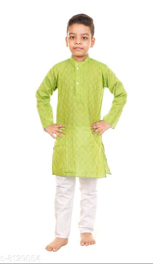 Vesh Cotton Kurta Pajama Set for Boys Kids Latest Design