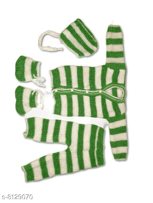Sweaters BORN BABY'S SWEATER SET   *Fabric* Wool  *Multipack* 1  *Sizes*  0-3 Months  *Sizes Available* 0-3 Months *    Catalog Name: Agile Classy Girls Sweaters CatalogID_1349291 C62-SC1149 Code: 962-8129070-