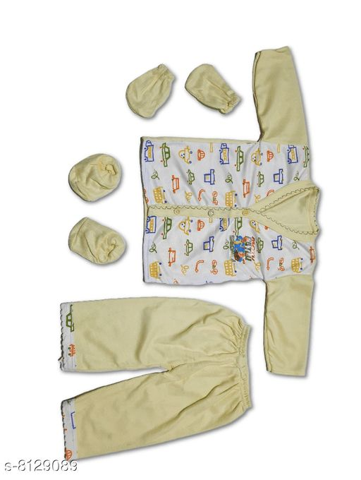 Thermals BOY'S THERMAL WITH MITTEN SET  *Fabric* Cotton  *Type* Set  *Multipack* 1  *Sizes*  0-6 Months  *Sizes Available* 0-6 Months *    Catalog Name: Flawsome Fancy Boys Thermals CatalogID_1349295 C59-SC1185 Code: 732-8129089-
