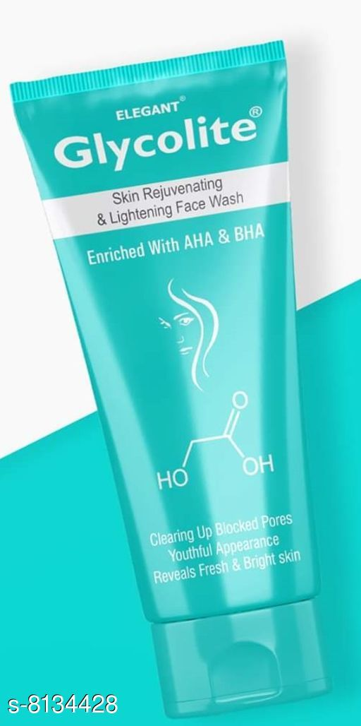 Face Elegant Glycolite Face wash  *Capacity* 60ML  *Type* Face Wash  *Multipack* 1  *Sizes Available* Free Size *    Catalog Name: Sensational Hydrating Cleansers CatalogID_1350549 C51-SC1241 Code: 671-8134428-