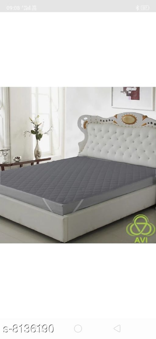 Fancy Elasticated Waterproof And Dustproof Fitted Mattress Protector