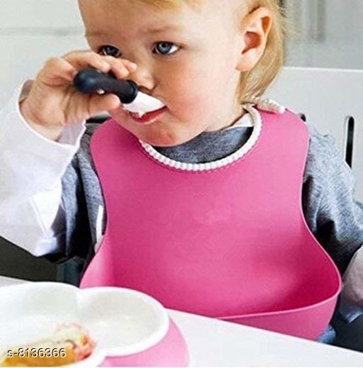 Baby Aprons/Bibs Baby Bibs  *Material * Silicon( Water proof)  *Size * Free Size  *Multipack * Pack of 3  *Sizes Available* Free Size *    Catalog Name: Beautiful Baby Aprons/ Bibs CatalogID_1350994 C138-SC1669 Code: 347-8136366-