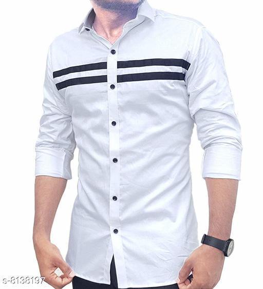 Men's Cotton Casual Shirt For Men Full Sleeve